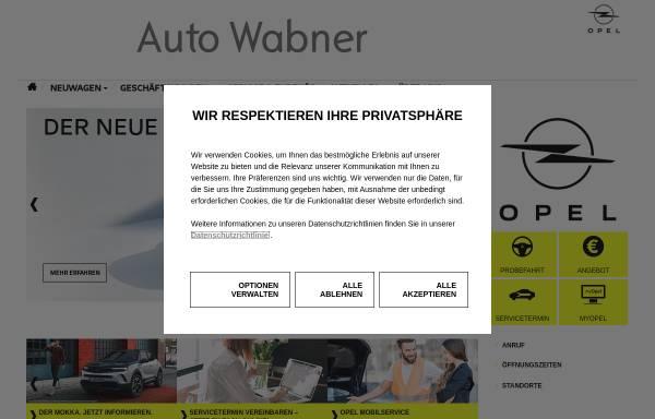 Vorschau von www.auto-wabner.de, Auto-Wabner