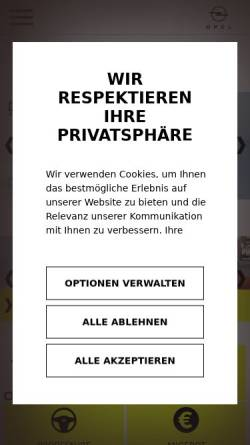 Vorschau der mobilen Webseite www.auto-wabner.de, Auto-Wabner