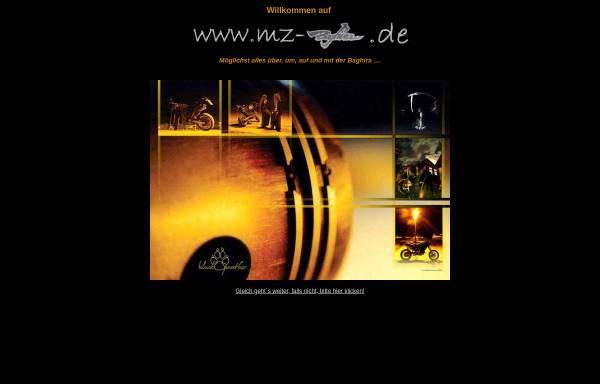 Vorschau von www.mz-baghira.de, MZ Baghira - die Seite für Baghira-Fahrer