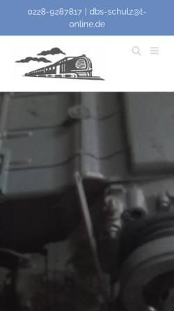 Vorschau der mobilen Webseite www.dbs-schulz.com, DBS-Schulz, Inh. Georg Schulz