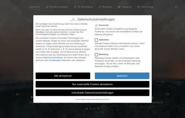 Vorschau von www.modellbau-world.de, Modellbau World - alles über Modellbau