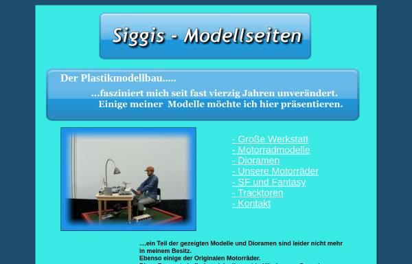 Vorschau von www.siggis-modellseiten.de, Siggis Modellseiten