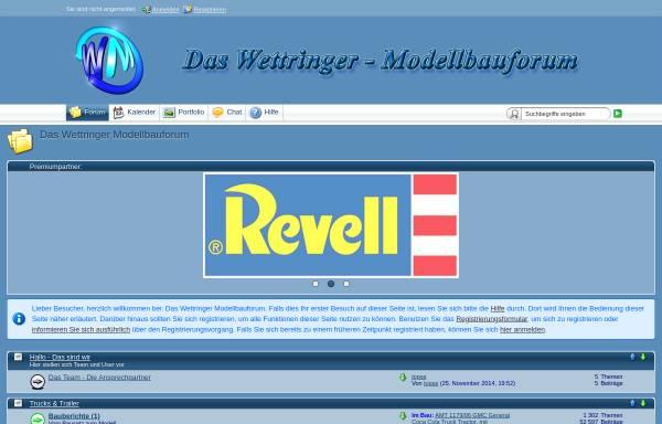Vorschau von www.wettringer-modellbauforum.de, Das Wettringer-Modellbauforum