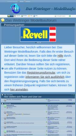 Vorschau der mobilen Webseite www.wettringer-modellbauforum.de, Das Wettringer-Modellbauforum