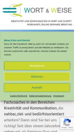 Vorschau der mobilen Webseite www.diekeulquappen.at, Die Keulquappen